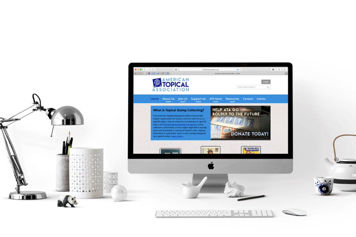 Web Site Redesign for American Topical Association