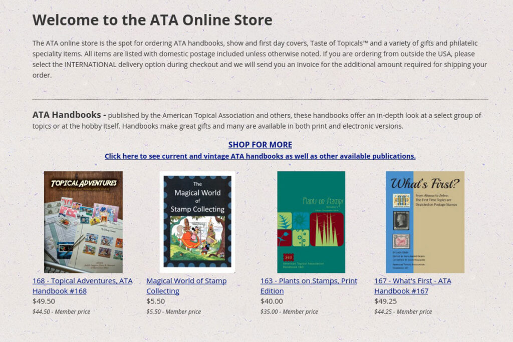 Simple ATA Webstore